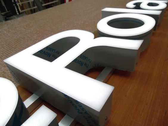 Световые вывески и объемные буквы мегаманго цена заказать спб