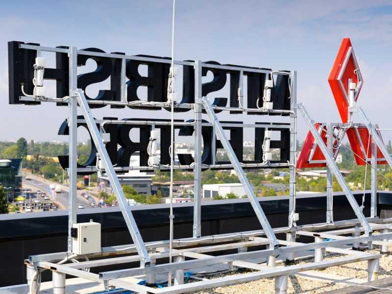 Крышная установка рекламная конструкция рекламная вывеска на крышу цена заказать санкт-петребург мегаманго