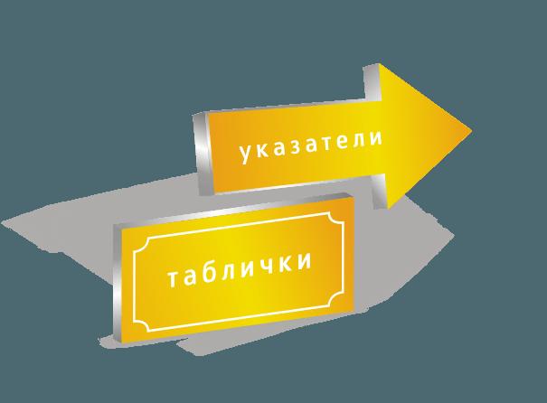 мегаманго наружная реклама указатели и таблички