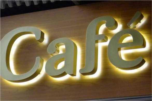 Световые объемные буквы из пластика подсветка контражур Мега Контражур заказать спб цена мегаманго