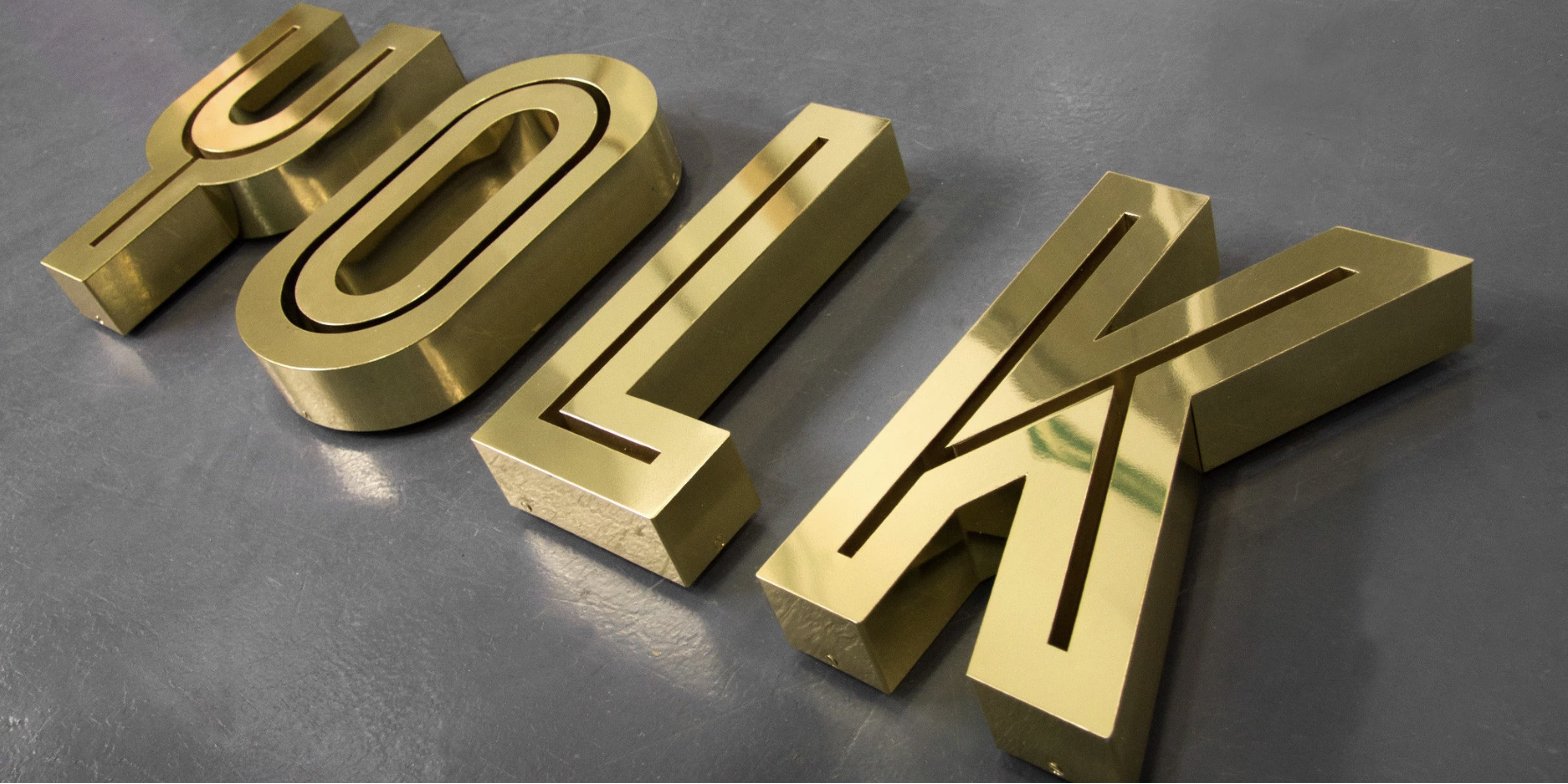 объемные буквы из металла цена спб мегаманго